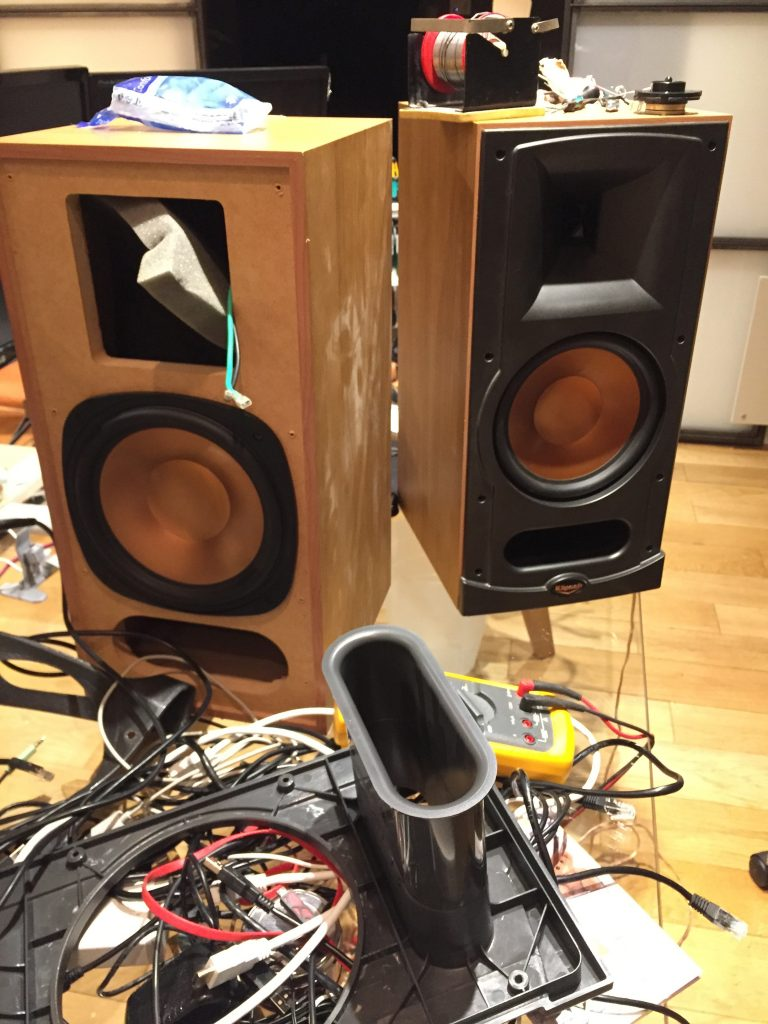 Repairing the tweeters of the Klipsch RB-35